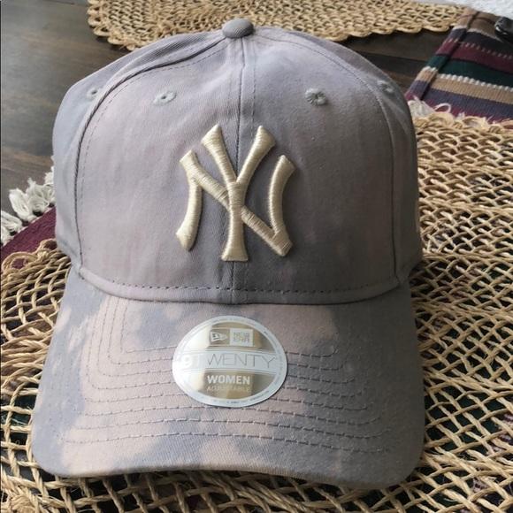 New York NY Yankees mlb bleach gray baseball hat 766bc3de8